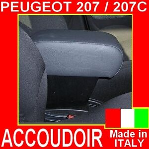 accoudoir pour peugeot 207 armrest for mittelarmlehne ebay. Black Bedroom Furniture Sets. Home Design Ideas