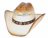 NEW-Straw-Western-Cowboy-Hat-Sz-Sml-Med