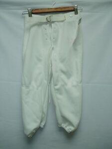 Youth-White-Football-Pants-Medium-Snaps-NWOT