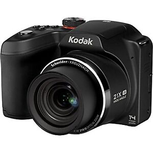 KODAK-EasyShare-14MP-Z5010-Digital-Camera-21X-Optical-Zoom-Black-14-0-MP-Bundle