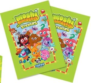 X1 Moshi Monsters Mash Up Sticker Packet Pack