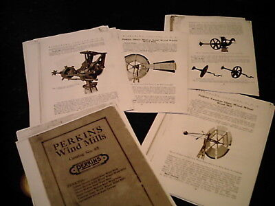 Perkins Windmill Catalog 65, Reprint