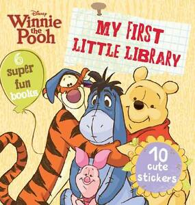 Disney-Winnie-the-Pooh-Pocket-Library-6-Board-Books-Collection-Set-New