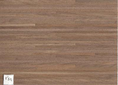 Black Walnut wood Flooring Sheet dollhouse #7021  1p Houseworks 1/12 scale