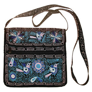 Six-Purse-Tote-Colca-Bag-Lot-Embroidered-Peru-Wholesale