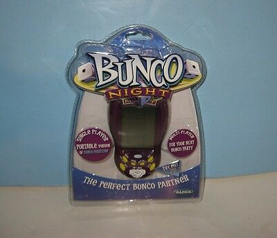 Sealed Bunco Night Electronic Hand-held By Radica