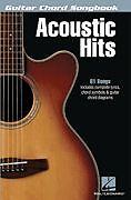 ACOUSTIC HITS - GUITAR CHORD SHEET MUSIC SONG BOOK
