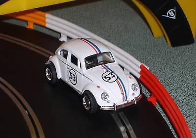 Scalextric conversion old type Herbie 53 VW Beetle car MINT