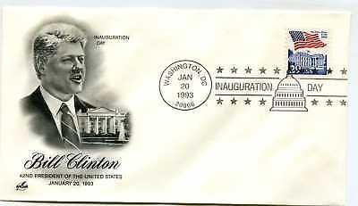 1993 Bill Clinton DC ArtCraft #1 Inauguration Day Cover