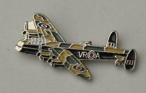 Lancaster-Bomber-RAF-WW2-Aeroplane-Enamel-Pin-Badge