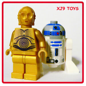 Lego star wars r2d2 c3po droid minifig pack new r2 d2 ebay - Lego starwars r2d2 ...