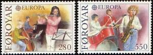 Denmark Faroe 1985 Mi 116-17 ** Europa Cept Music Muzyka Musical Instruments - <span itemprop=availableAtOrFrom> Dabrowa, Polska</span> - Denmark Faroe 1985 Mi 116-17 ** Europa Cept Music Muzyka Musical Instruments -  Dabrowa, Polska