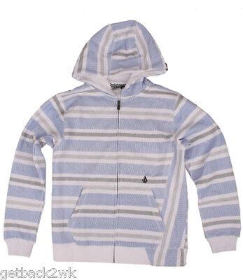 Volcom Big Youth Sweatshirt Hoody Blue Boys Xl