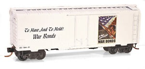 Warbonds-Boxcar-N-Scale-MTL-LE-Special-Run