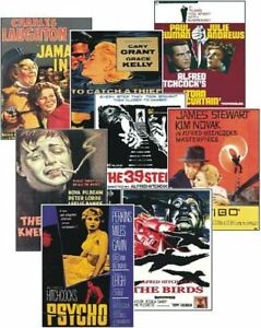 Alfred-Hitchcock-Film-Poster-Trading-Card-Set