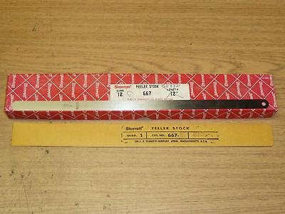 New Starrett 667m-6 Thickness Gauge Feeler Stock .06mm