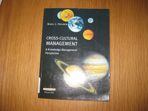 Cross-cultural Management von Nigel J. Holden (2002)