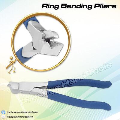 Prestige ring bending Bow closing pliers jewellers hobby craft tools 18 cm# 0378