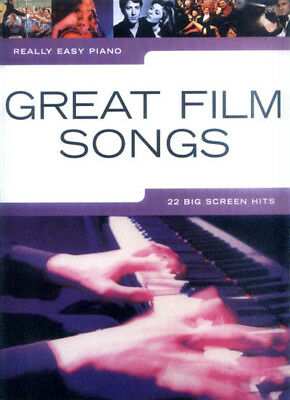 Really Easy Piano Great Film Songs Noten Klavier leicht