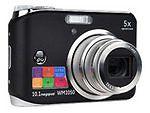 GE WM1050 10.1 MP Digital Camera - Black