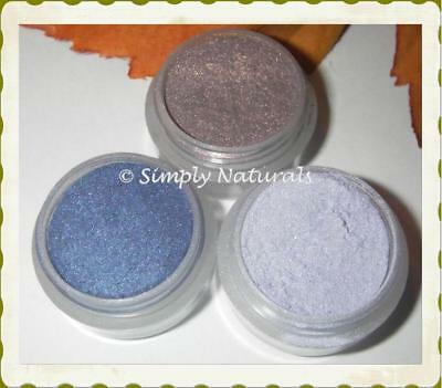 Mineral Pure Eye Shadow 3pk ♥ Purples 4 full Jars