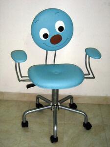 Sedia girevole design poltrona bimbo per scrivania ebay for Poltrona scrivania design