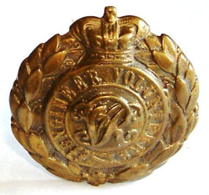 VICTORIAN-THE-ENGINEERS-VOLUNTEERS-CAP-BADGE