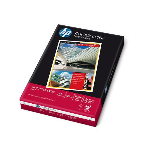 250 Blatt HP Colour Copy Papier A4 250g weiß Kopierpapier CHP410