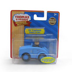 NEW-IN-BOX-Thomas-Tank-Engine-SIR-TOPHAM-HATTS-CAR-Wooden-Railway
