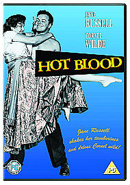 Hot Blood DVD NEW SEALED R2