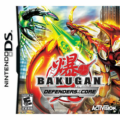Bakugan: Defenders of the Core (Nintendo DS, 2010)