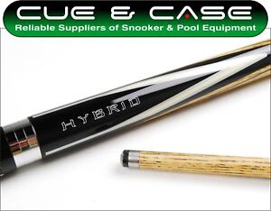 Riley Hybrid HD-300 Ash 2 piece Snooker Pool Cue 9.5mm