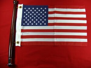 AMERICAN US FLAG POLE KIT BOAT MARINE SEACHOICE 78191