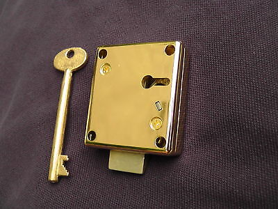 Gamewell Lock with Key for Fire Alarm and Police Call Boxes