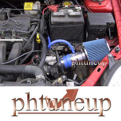 Blue 2000-2005 Dodge Neon 2.0 2.0l Sohc Non-turbo Air Intake Kit Systems