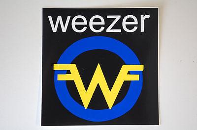 Weezer Sticker Decal (S332)