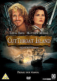 CUTTHROAT-ISLAND-Stan-Shaw-Geena-Davis-NEW-SEALED-DVD