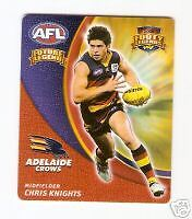 2007 AFL FOOTY TAZO CHRIS KNIGHTS FUTURE LEGEND TAZO