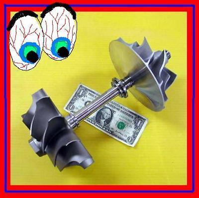 GIANT Set Garret Compressor &Turbine Wheel Jet Engine/Project /Pelton Wheel or ?