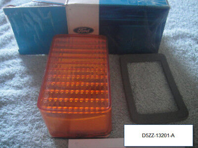 (SEE VIDEO) 1975 76 Ford Mustang II Parking Lamp Light Asembly NOS