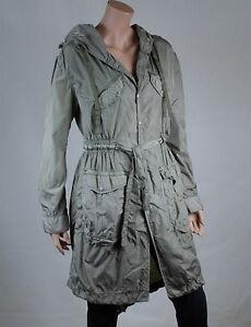 veste trench imperm able femme diesel taille m t 38 ebay. Black Bedroom Furniture Sets. Home Design Ideas