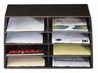 MAIL-SORTER-Post-Letter-Organiser-8-Tray-Desk-Unit