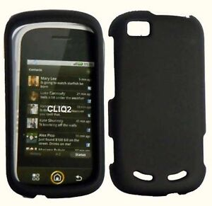 Black Hard Cover Case For Motorola Cliq 2 MB611