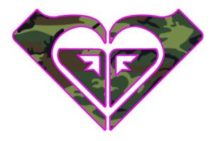Roxy-Camo-Decal-Sticker-Buy-3-get-1-FREE