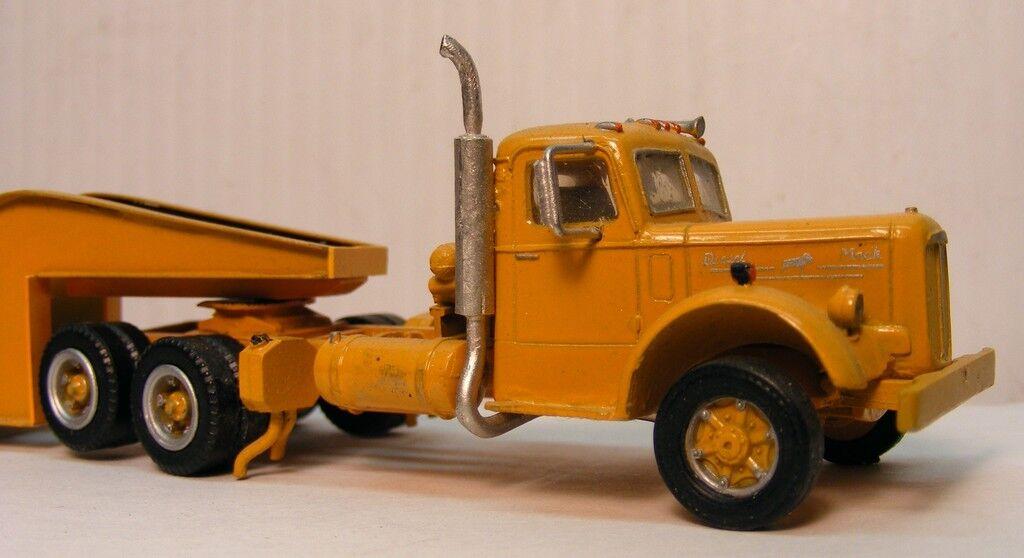 Mack Lj Cab Resin Cast Truck Kit 1/87 Scale By Don Mills Models