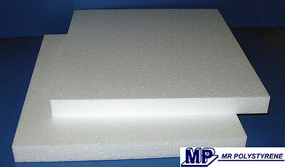 15 x EXPANDED POLYSTYRENE SHEETS LD GRADE 600 X 400 X 25MM