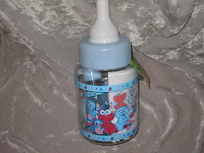 10 Pc. Gift Set Baby Sesame Street Bank Bottle Rattle