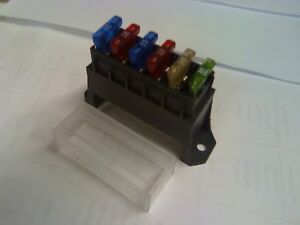 ATC-ATO-6-WAY-FUSE-RAISED-BLOCK-WITH-CLEAR-COVER-AUTO-CAR-TRUCK-MOTORCYCLE