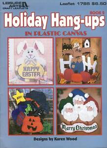 Leisure Arts Holiday Hang-ups in Plastic Canvas Leaflet