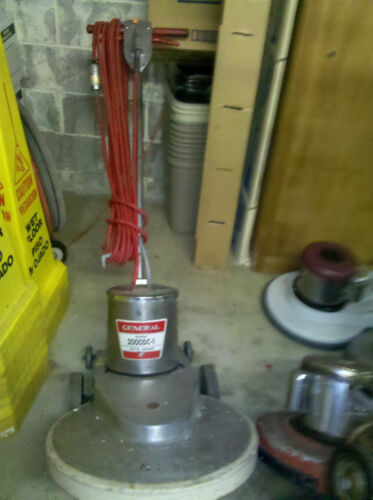 "General 2000DC-1 20"" 1500 rpm 1.5HP Floor Burnisher"